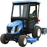 New Holland Cab and Enclosure - Boomer 1020, Boomer 1025, Boomer 1030, T1010, T103...