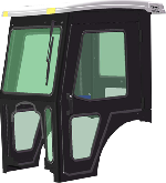 Bobcat Cab and Enclosure - CT225, CT230, CT235