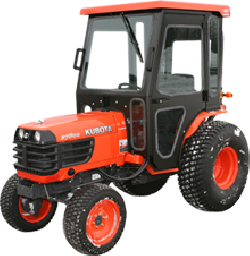 Kubota B7800 Tractor Cabs And Cab Enclosures Sims Cab Depot