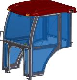 McCormick Cab and Enclosure - CT28, CT28HST, CT32, CT32HST, CT36, CT36HST